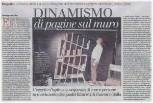 Articolo Gazzetta di Parma - Balla coi Libri - Enrico Ottoni